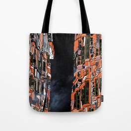 Nepal Apartments Tote Bag