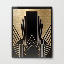 Art deco design Metal Print