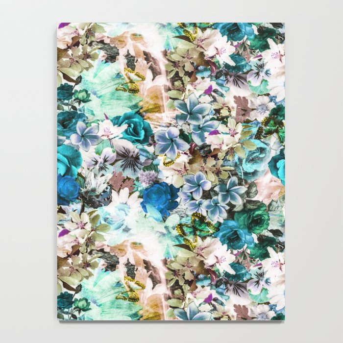 Floral Pattern V2 Notebook