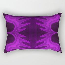 deep purple lily Rectangular Pillow