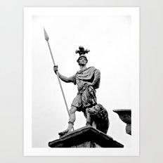 Guarding Dublin Castle Art Print