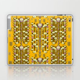 Rain showers in the rain forest of bloom and decorative liana Laptop & iPad Skin