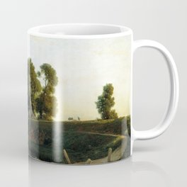 View Of Lakhta Near St Petersburg 1850 By Lev Lagorio | Reproduction | Russian Romanticism Painter Coffee Mug