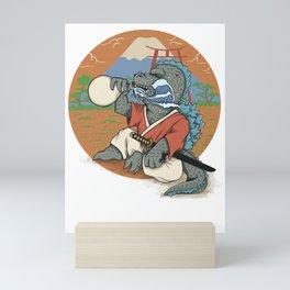 Godzilla Mini Art Print