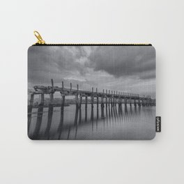 The old Wooden Bridge Carry-All Pouch