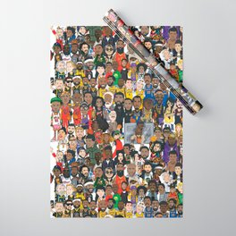 Basketball Culture Wrapping Paper
