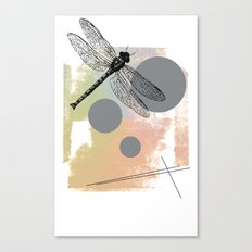 Dragonfly (variant) Canvas Print