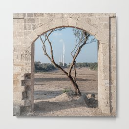 A view from the ruins Metal Print