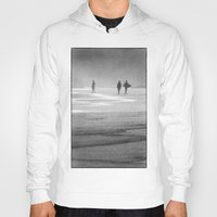 south africa Hoodies featuring Surfing South Africa by David Turner