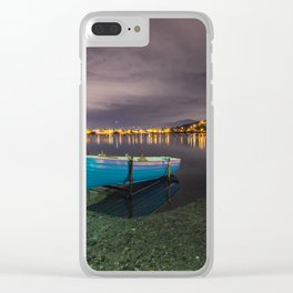 Quiet in the lake Clear iPhone Case