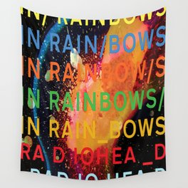 In Rainbows Wall Tapestry