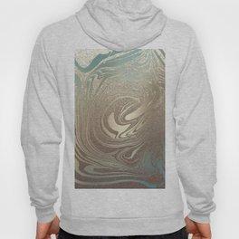 Mermaid Gold Wave Hoody