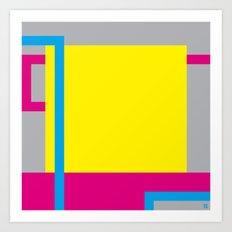 P.H. - Yellow Art Print