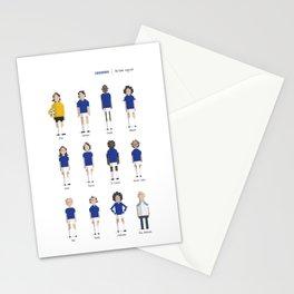 Cruzeiro - All-time squad Stationery Cards