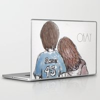 the fault in our stars Laptop & iPad Skins featuring The Fault in Our Stars by Natasha Ramon