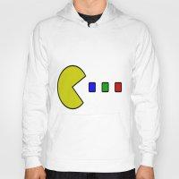 pacman Hoodies featuring Pacman by ArtSchool