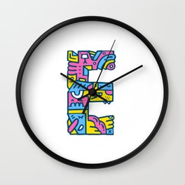 Easy does it… Wall Clock