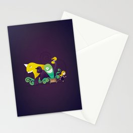 pandora's box Stationery Cards