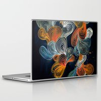 friday Laptop & iPad Skins featuring Friday Night by Marcelo Romero