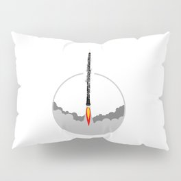 Oboe rocket Pillow Sham