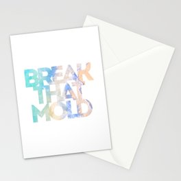 Break That Mold Stationery Cards