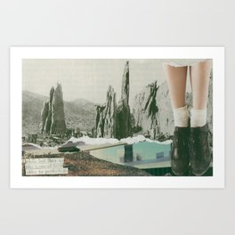 close to perfection Art Print