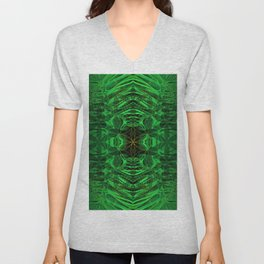 on the edge of the universe Unisex V-Neck