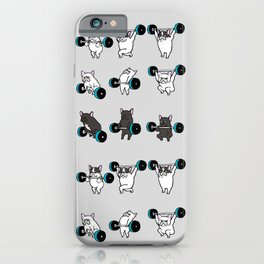 OLYMPIC LIFTING FRENCHIE iPhone Case