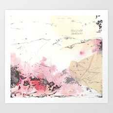 Traces (IV) Art Print