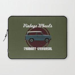 Vintage Wheels: Trabant 601 Universal Laptop Sleeve