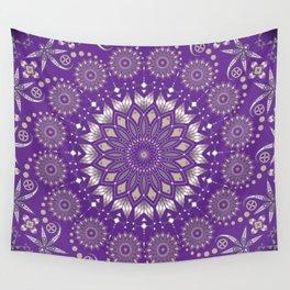 Ancestors (Purple) Wall Tapestry