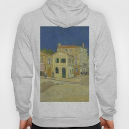 The Yellow House by Vincent van Gogh Hoody