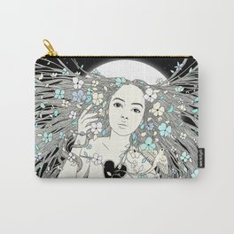 Tangled Up in Life (A Portrait of Nature) Carry-All Pouch