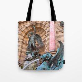 Saint-Michel Fountain Tote Bag