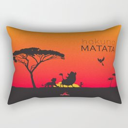 Hakuna Matata Rectangular Pillow