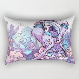 Death Blossom Rectangular Pillow