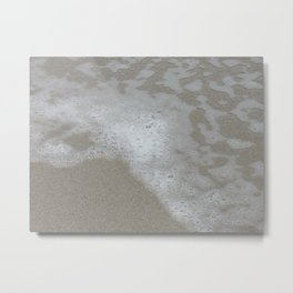 Beach Waves 3 Metal Print