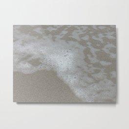 Beach Waves 3 Metal Print
