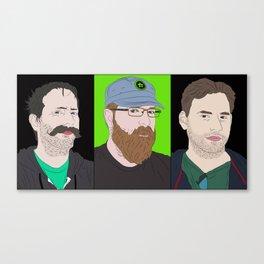 Achievement hunter's gents Canvas Print