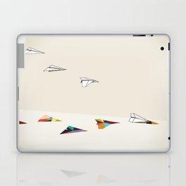 Walking Shadow, Paper Planes Laptop & iPad Skin
