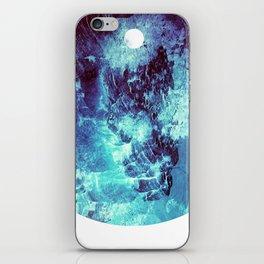 Ocean Moon // Blue Planet // Cerulean Solar Orb iPhone Skin
