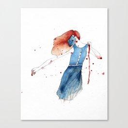 Woman Dancing Canvas Print