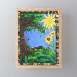 Day Dreaming Framed Mini Art Print