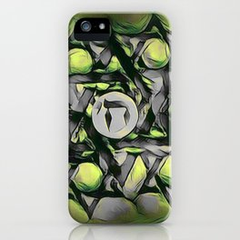 Chai Mandala - Green iPhone Case