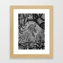 Sun/Wind Framed Art Print