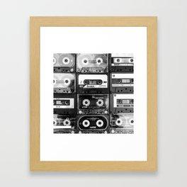 Something Nostalgic - black and white #decor #buyart #society6 Gerahmter Kunstdruck