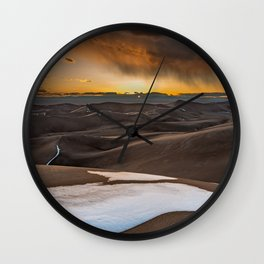 Great Sand Dunes National Park and Preserve Colorado Wall Clock
