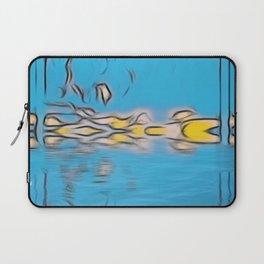 Digital Blue Art Design Laptop Sleeve