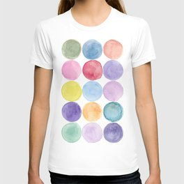 dotted and well organized T-shirt