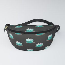 Bird Lover Pattern for a Cake Baker Fanny Pack